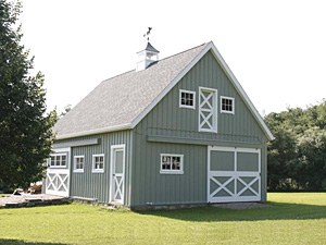 how to build a barn garage