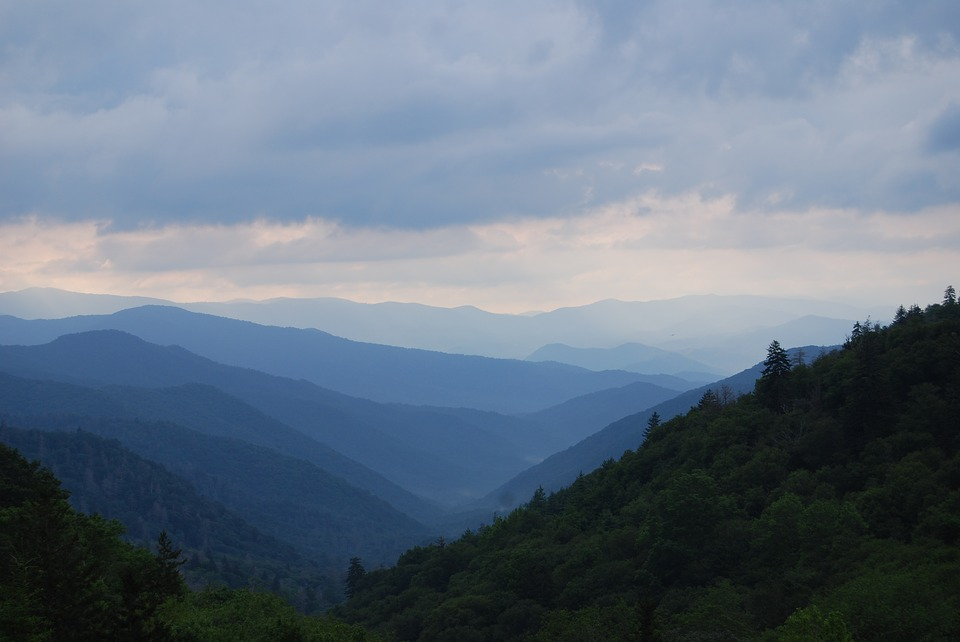 The Great Smokey Mountains.